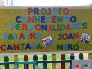Read more about the article Projeto Conhecendo Personalidades: Joan Miró e Palavra Cantada